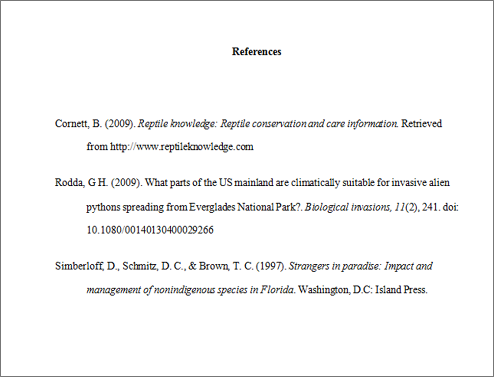 Format Citation Stylish Example Of Apa Style Citation Page Example