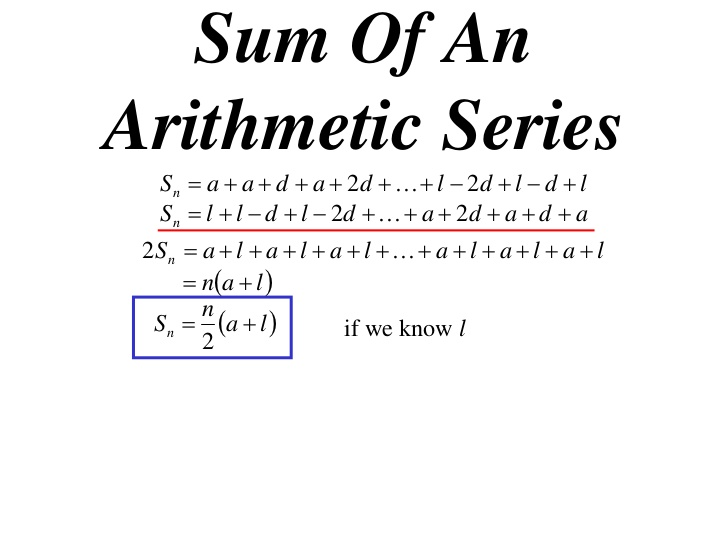 Arithmetic Series (solutions, examples, videos, worksheets, games