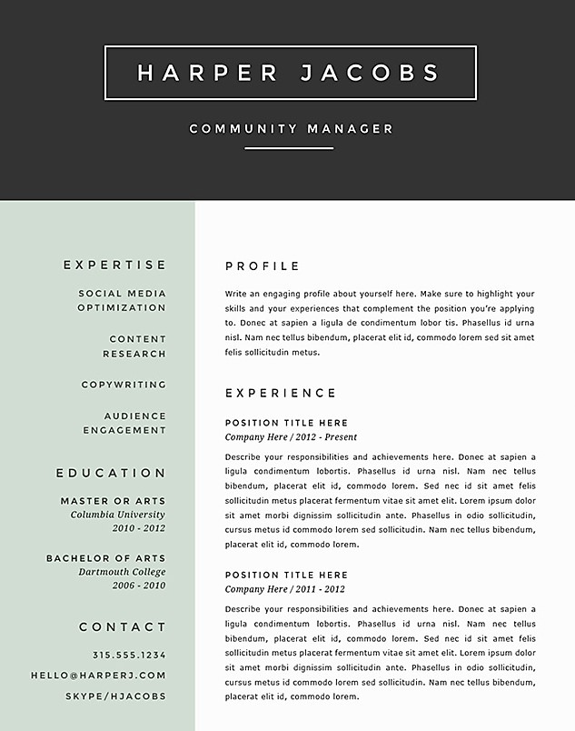 Make a Resume for Free to best Resume Templates 2016