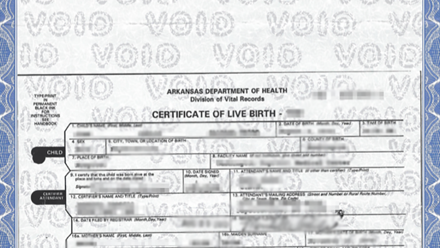 No birth certificates allowed for Arkansas newborns / Boing Boing
