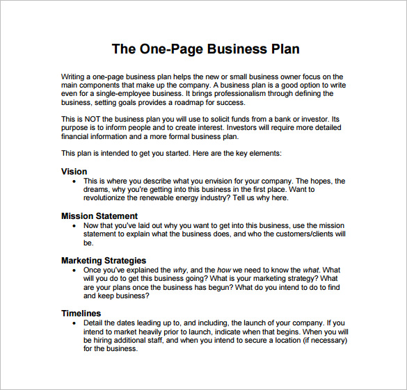 Business Plan Templates Free Sample Example Format | Inzare : Inzare