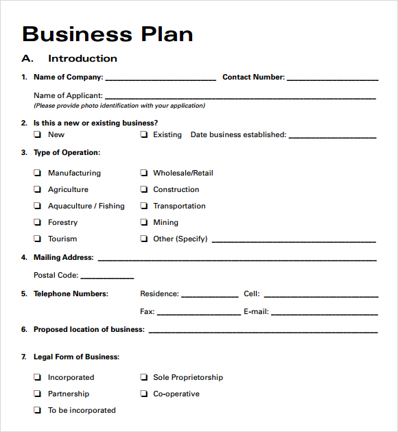 business plan template free business plan templates free business