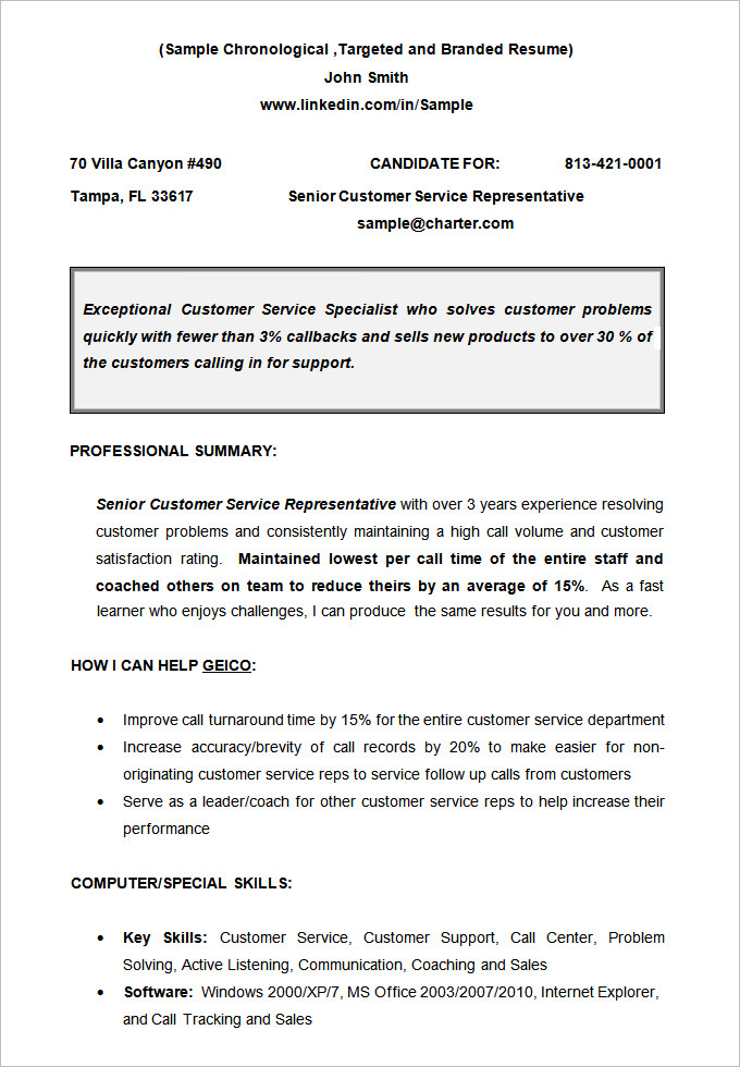 resume template chronological chronological resume template 23