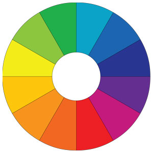 Color Wheel Chart & Basic Color Theory