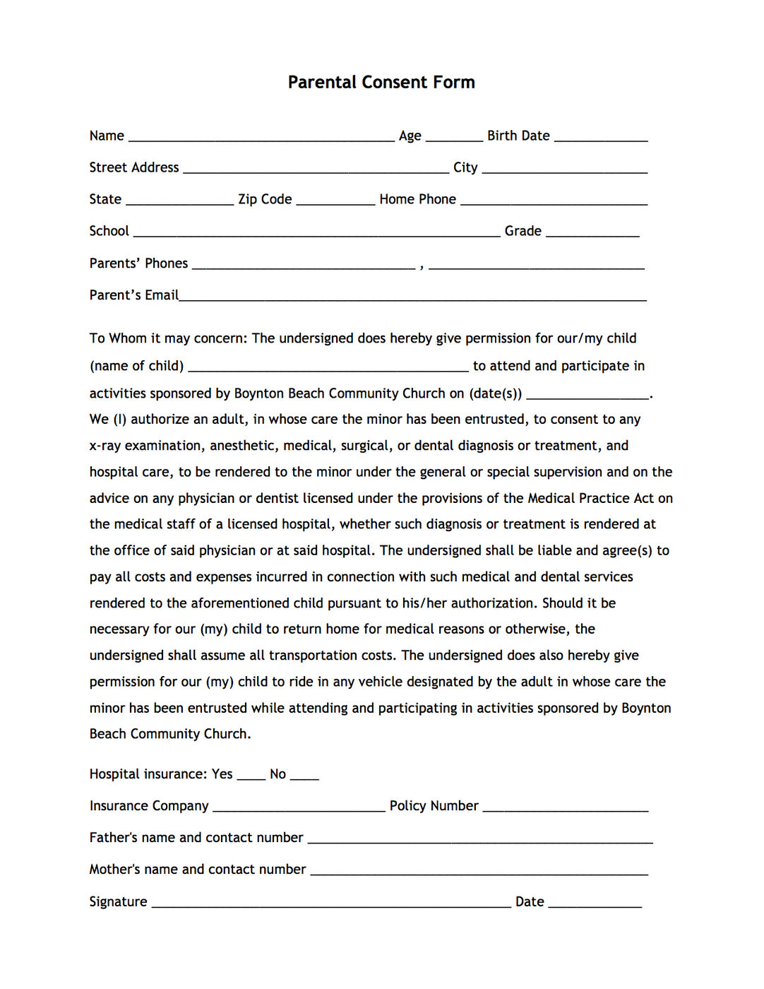 Free Sexual Consent Form Word | PDF | eForms – Free Fillable Forms