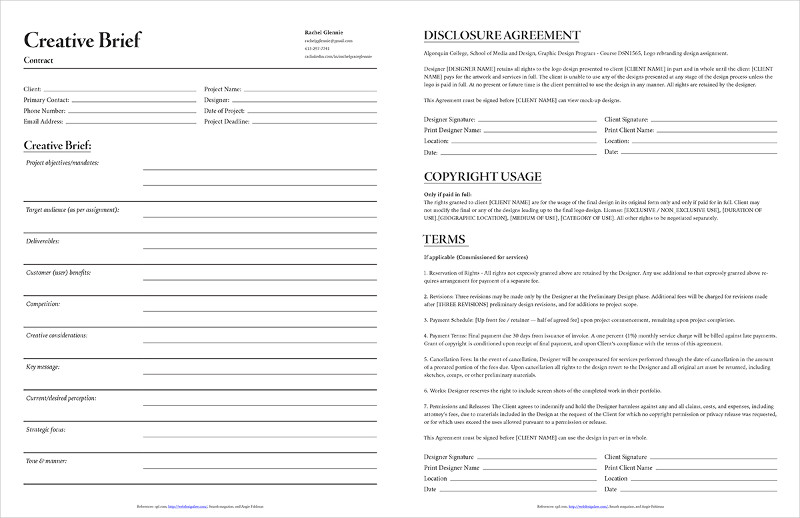 simple contract form Dorit.mercatodos.co