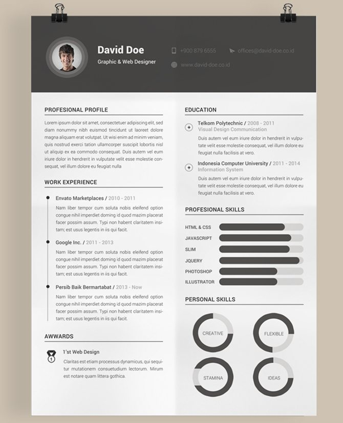free creative cv templates Onwe.bioinnovate.co