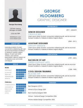 cv template word free Onwe.bioinnovate.co