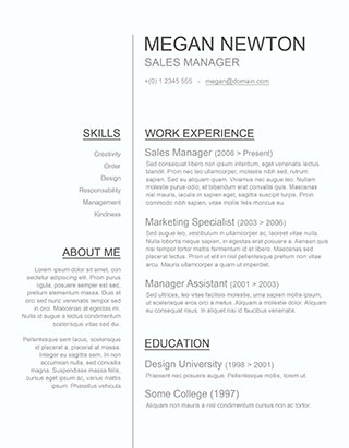 cv template word Onwe.bioinnovate.co
