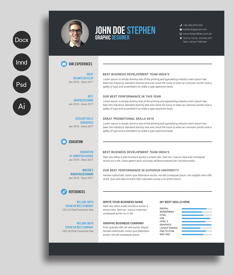 cv template microsoft word Onwe.bioinnovate.co