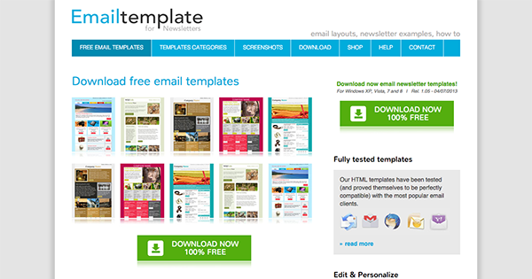 electronic newsletter templates the best places to find free