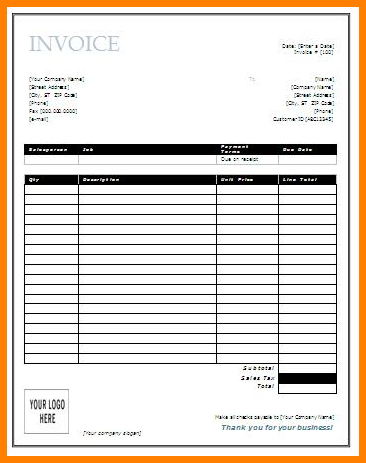 invoice templates printable free | Invoice Templates | Free Word