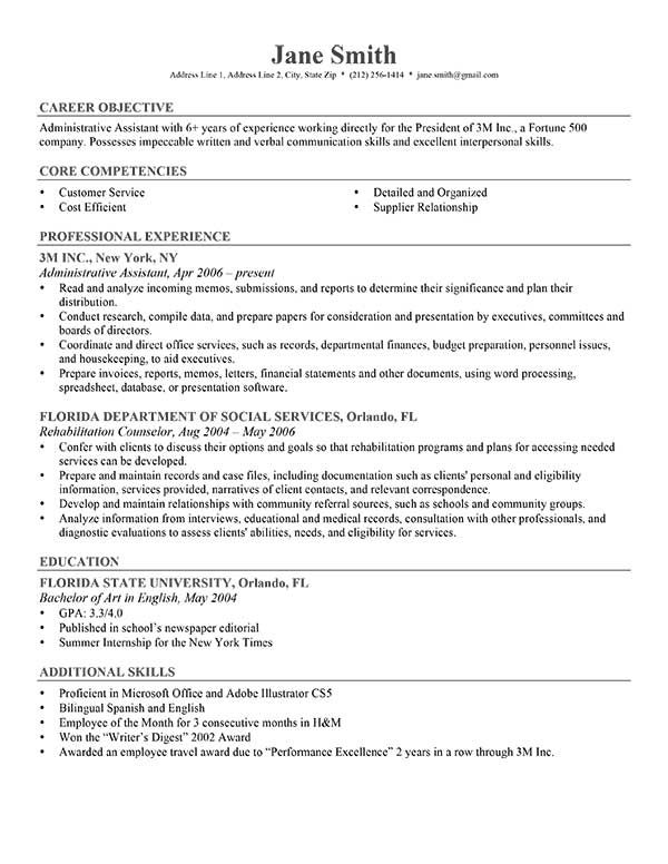 Free Samples Resume Examples Free Big Resume Cover Letter Example