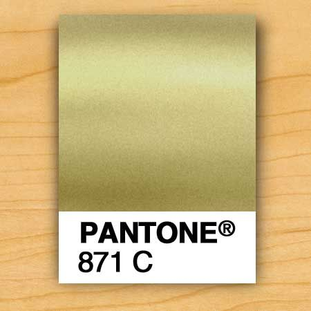 Honey Gold Pantone 12