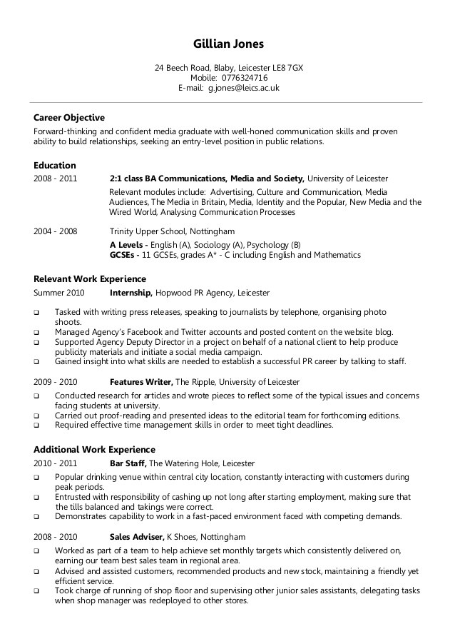 Good Resume Format Cv Resume Ideas Top Ten Resume Format Safero