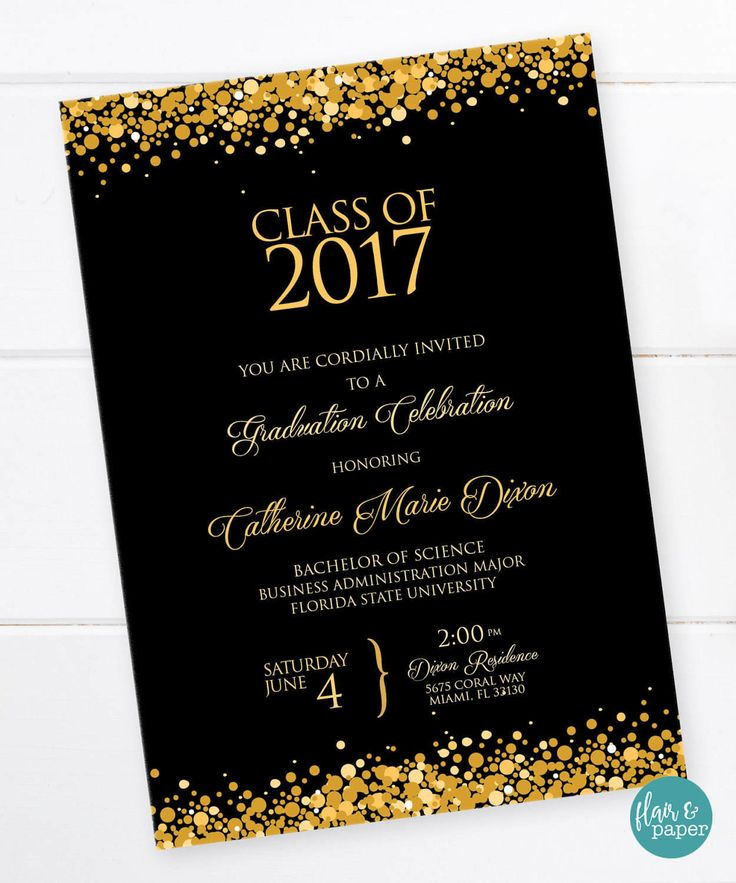 Graduation Invitation Ideas sansalvaje.Com