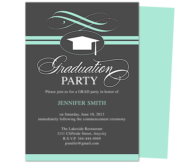Graduation Invitation Ideas kinderhooktap.com