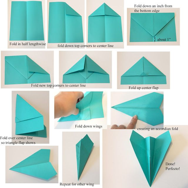 how to make a paper airplane | Here's the tutorial! And yes