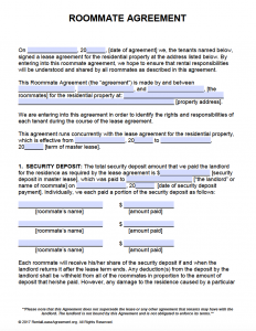 Free Printable Rental Lease Agreement Templates | PDF & Word