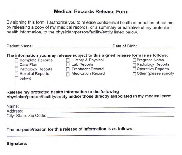 medical records release forms Onwe.bioinnovate.co