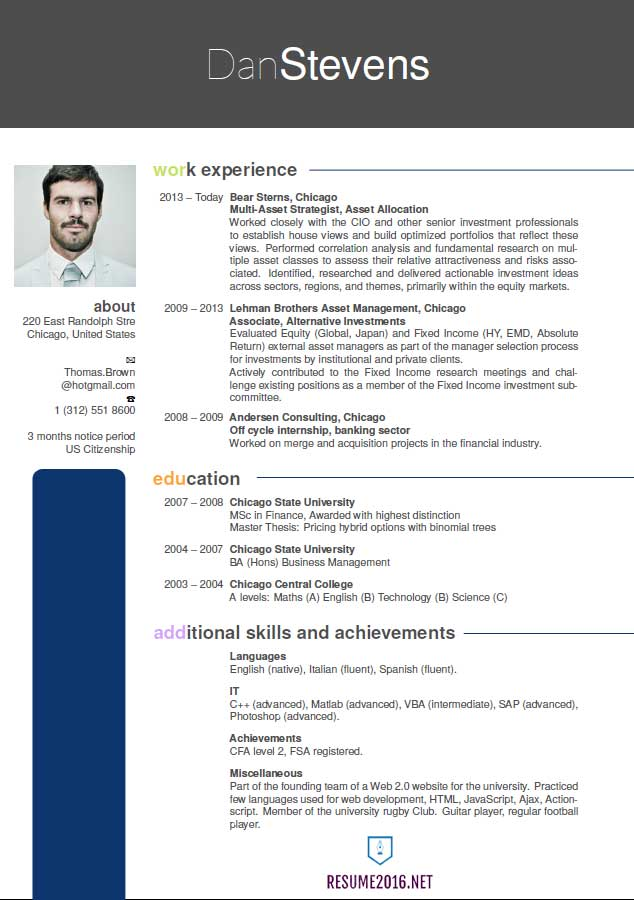 New Resume Latest Resume Format 2016 Hot Resume Format Trends F