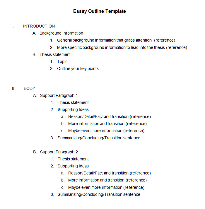 microsoft word outline template 21 outline templates free sample