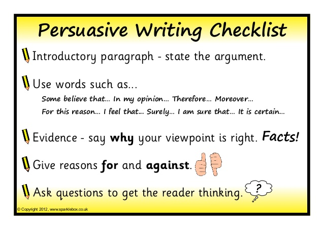 Persuasive Writing Displays Lessons Tes Teach