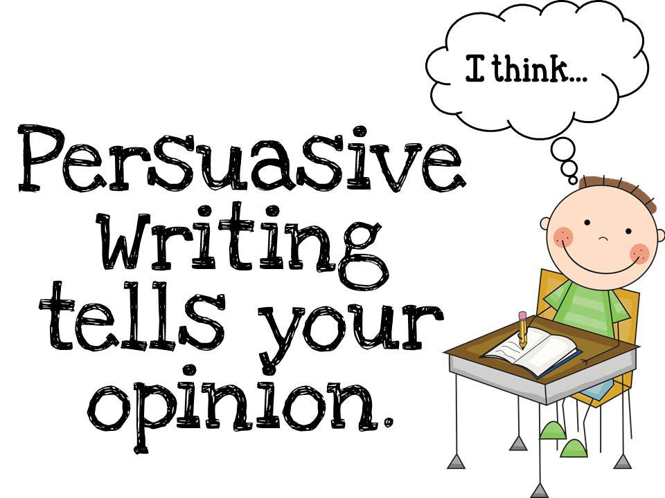 Opinion/Persuasive Writing 3rd Grade Lessons Tes Teach