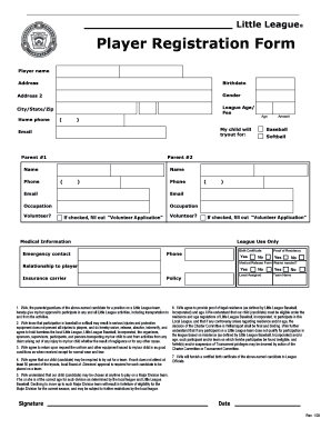 Blank Registration Forms Template Fill Online, Printable