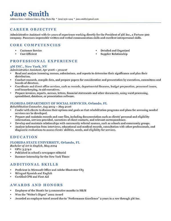 80+ Free Professional Resume Examples by Industry | ResumeGenius