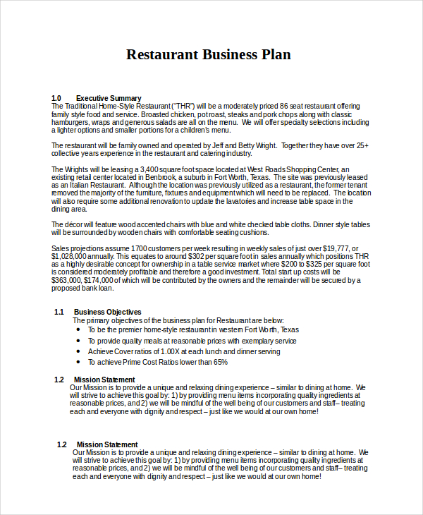 How to Write a Business Plan (with Sample Business Plans)
