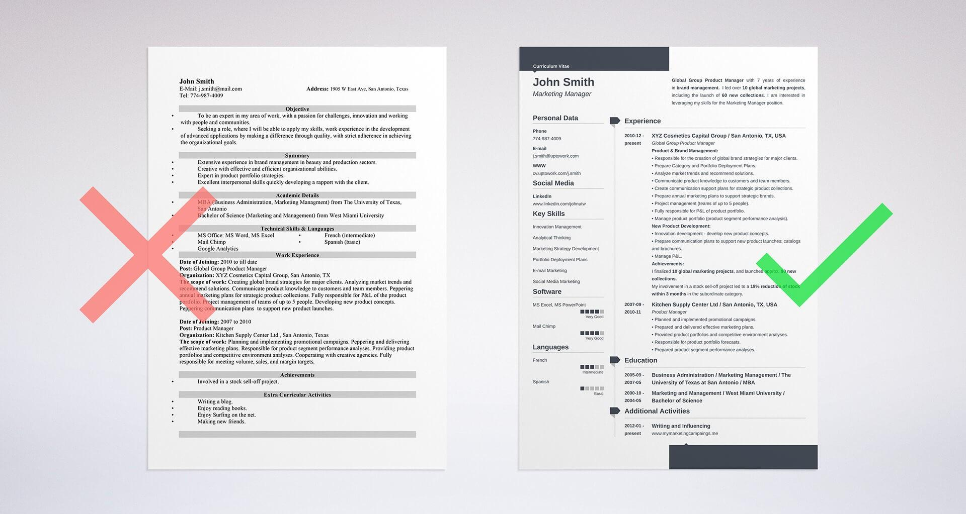 Sample Resume Objectives jmckell.Com