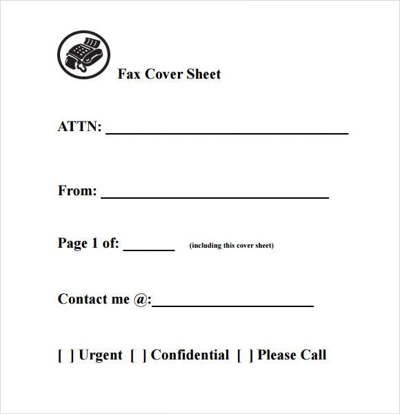 basic fax cover sheet template Yeni.mescale.co