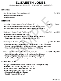 Resume Of Student Example Resume For Students Beautiful Job Resume