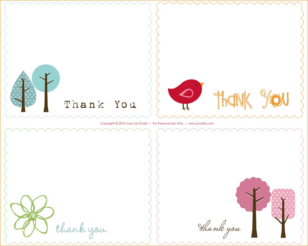 Word Template Thank You Card Monpence Of Thank You Notes Templates