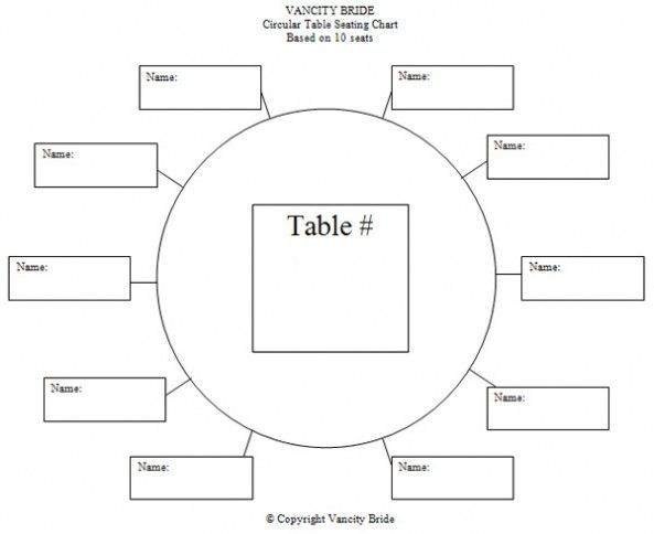 table assignment template Google Search | Wedding | Pinterest