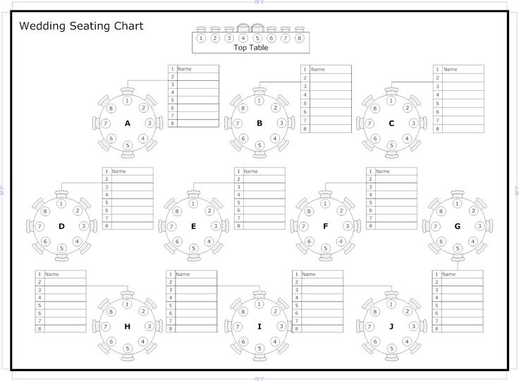 Wedding Seating Chart Templates Seating Chart Template Wedding