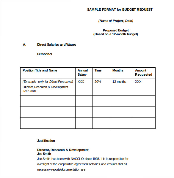 budget request form Kleo.beachfix.co