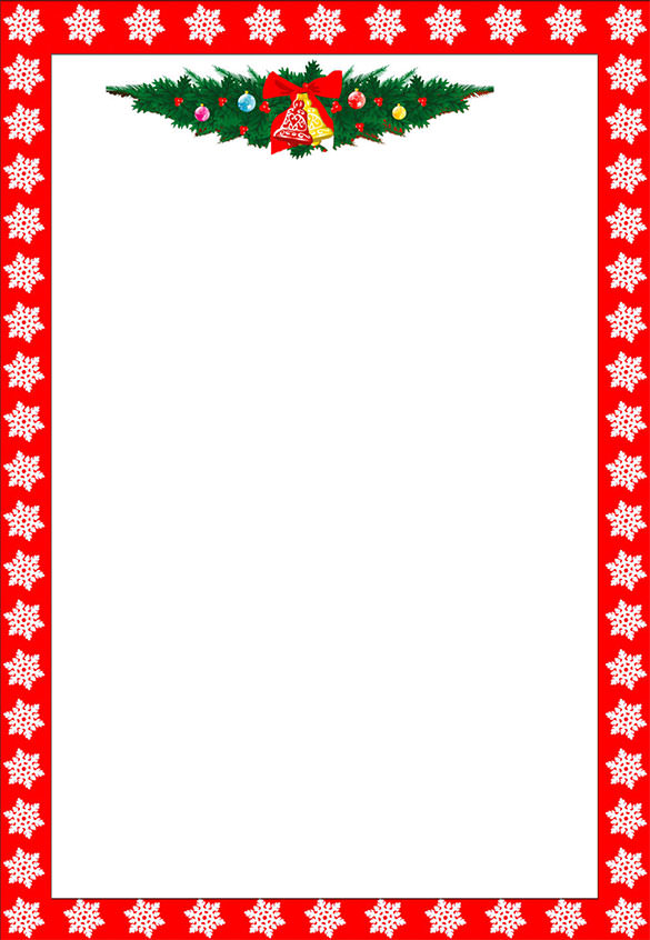 word christmas letter template Kleo.beachfix.co
