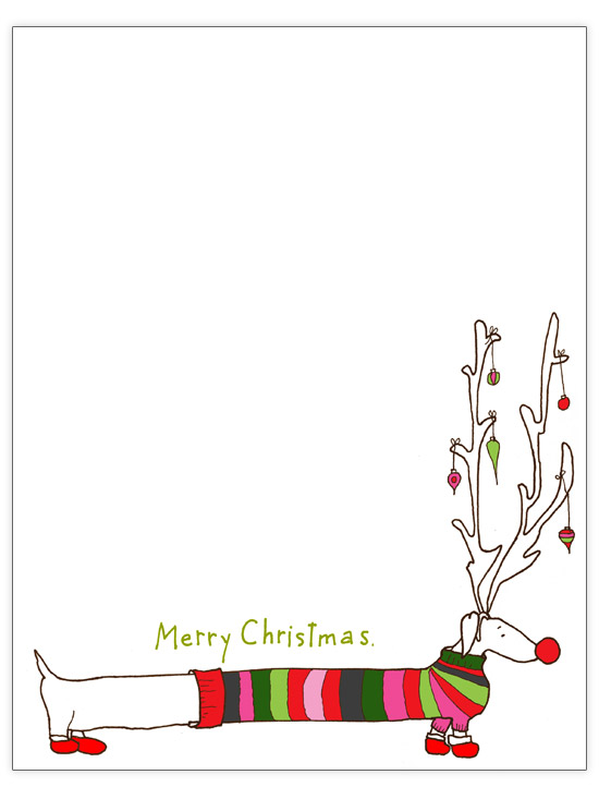 Free Christmas Letter Templates Free Christmas Letter Template