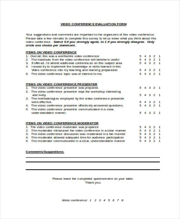Evaluation Report Templates 9+ Free Sample, Example Format