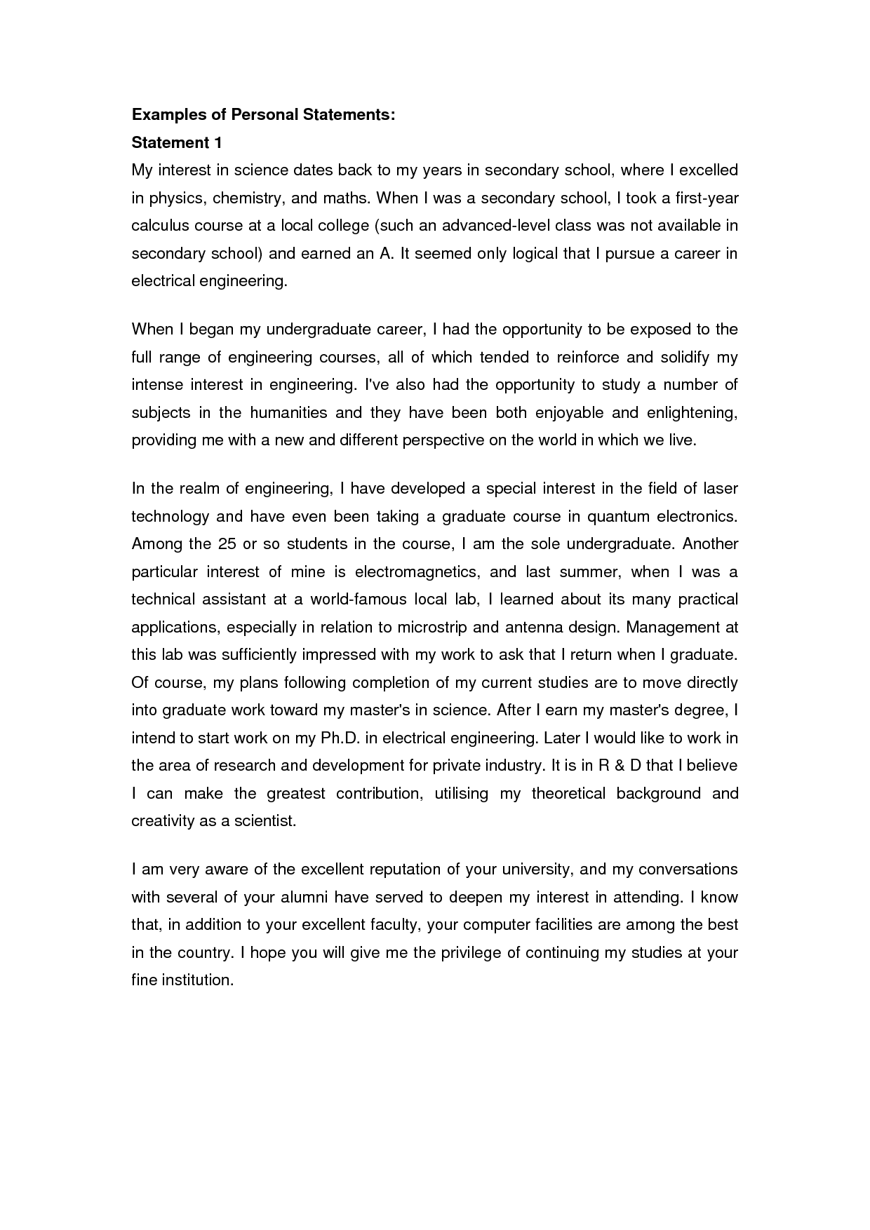 example of a personal essay for college Kleo.beachfix.co