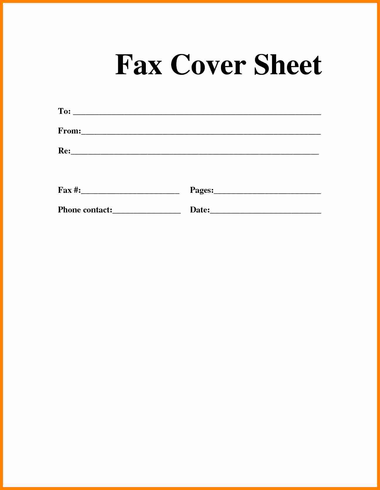 7 Free Fax Cover Sheet Pdf Exclusive Resumes Fax Cover Letter Pdf