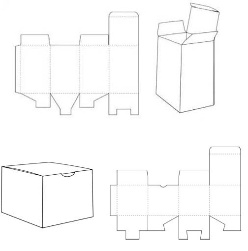 cardboard box template Kleo.beachfix.co