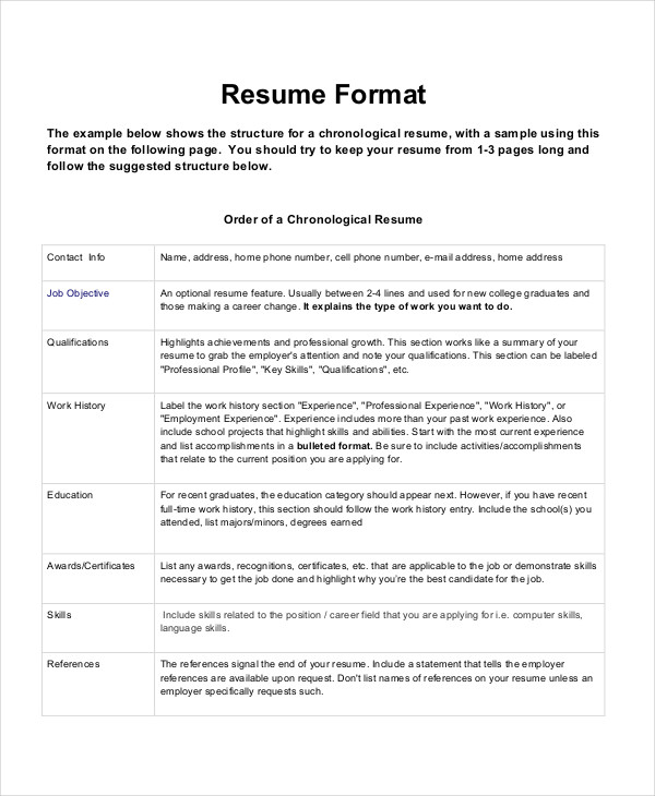 format a resume Kleo.beachfix.co