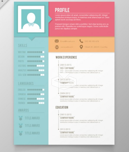 download free creative resume templates Kleo.beachfix.co