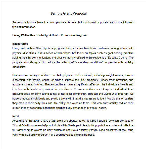grant proposal template grant proposal template 40 free word excel