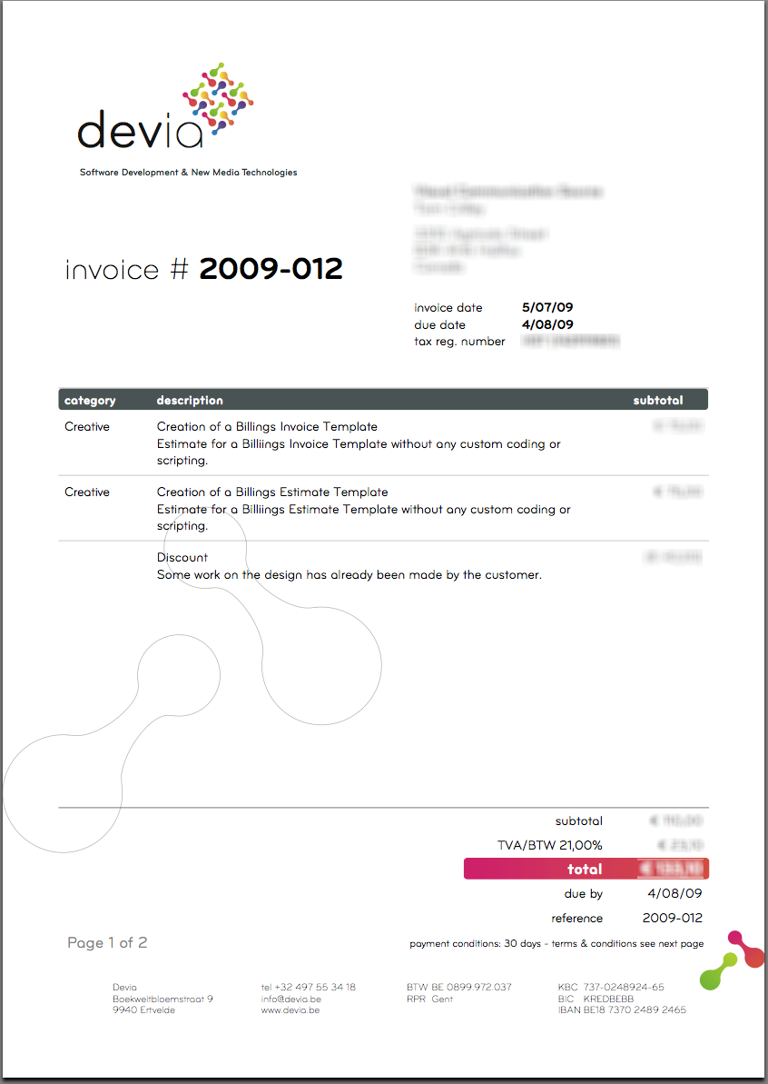 graphic design freelance invoice Kleo.beachfix.co
