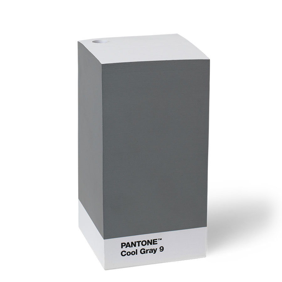 PANTONE Note pad Cool Gray 9 – Copenhagen Design