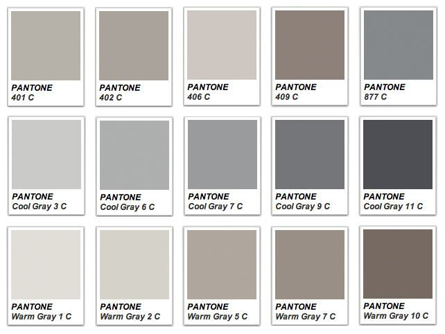 pantone warm gray Google Search | color theory | Pinterest